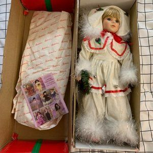 Authentic Collectible Porcelain Doll
